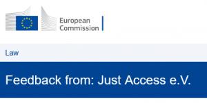 Screenshot_2021-04-08 Feedback from Just Access e V